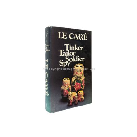 Tinker Tailor Soldier Spy Signed by John le Carré First Edition Hodder & Stoughton 1974